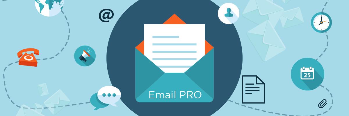 Vi lanserar nya Email Pro den 25/1 2018